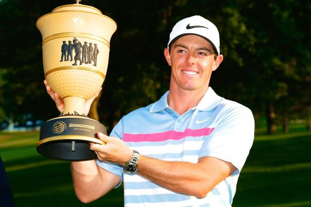 No Doubt Rory McIlroy Is the Golfer to Beat After 2014 WGC-Bridgestone Title
