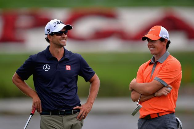 Rory McIlroy, Adam Scott Lead World Golf Rankings After Bridgestone Invitational