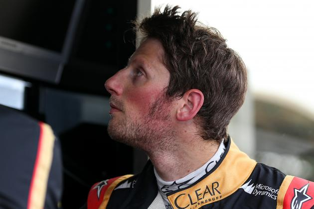 Romain Grosjean Not That Surprised by Kimi Raikkonen's Struggle