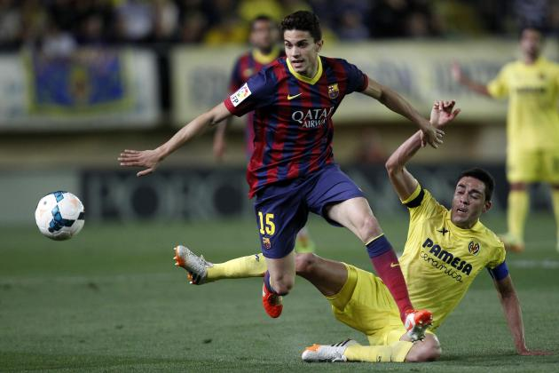 Barcelona's Marc Bartra Can Capitalise on Gerard Pique's Poor Form to Become Key