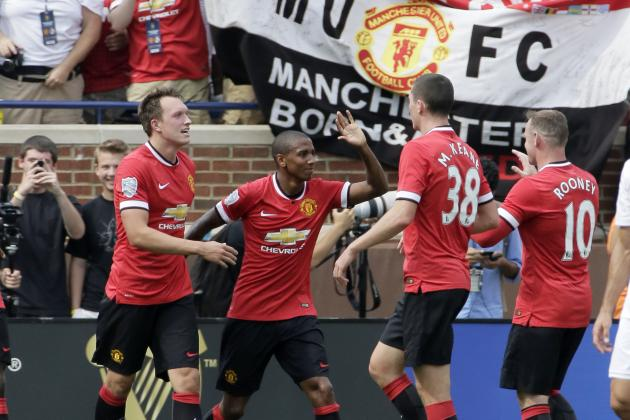 International Champions Cup Final: How Manchester United Will Line Up