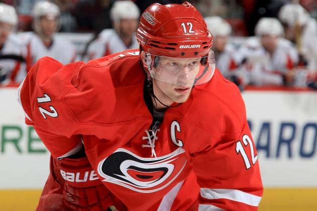 NHL Trade Rumors: Captain Eric Staal Shouldn't Be Moved by Hurricanes