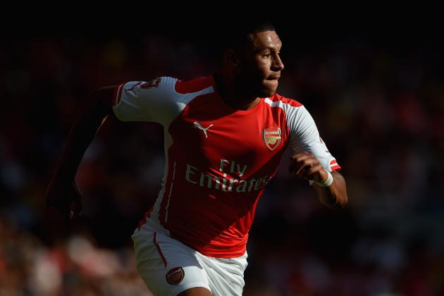 Alex Oxlade-Chamberlain Demonstrates His Worth at the Emirates Cup