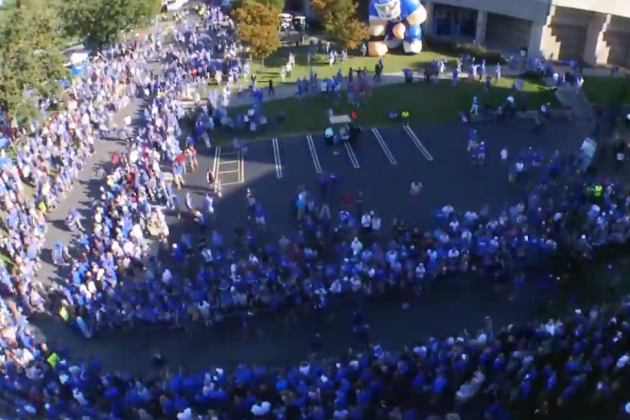 "Kentucky Releases ""Change The Game"" Hype Video Ahead Of 2014 Season"