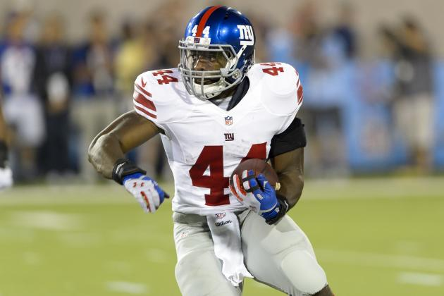 Andre Williams, Rashad Jennings' Updated Fantasy Outlook After Bills vs. Giants