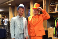 Tampa Bay Rays Go Formal for Trip to Oakland
