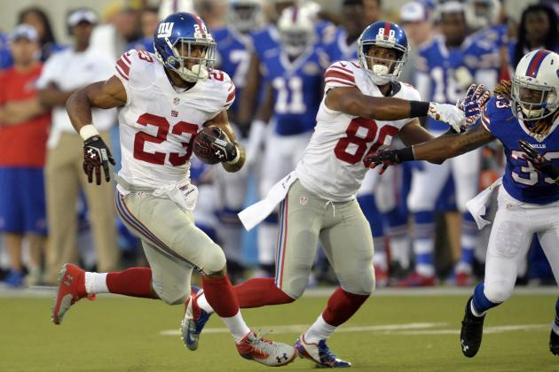 Examining the New-Look Giants Offense 1 Game into the 2014 Preseason