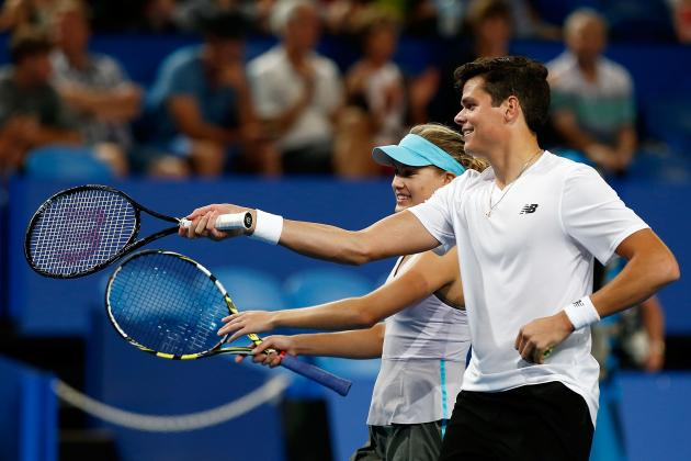 Milos Raonic and Eugenie Bouchard Lead Canada's Rogers Cup Hopes