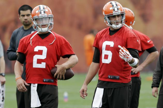 Johnny Manziel Challenging Brian Hoyer Is Best Possible Scenario for Browns