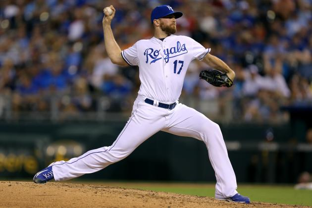 Royals' Wade Davis Finally Allows Extra-Base Hit in 44th Appearance of Season