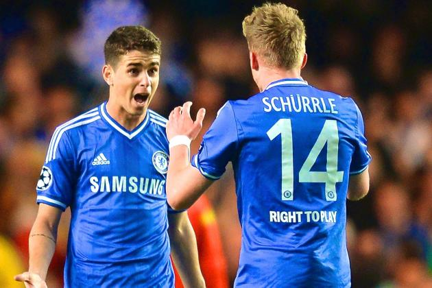 Return of Andre Schurrle, Oscar and Willian Is Perfect Timing for Chelsea