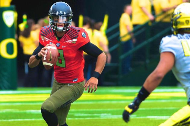 Why Marcus Mariota Is the Best QB Prospect in College Football