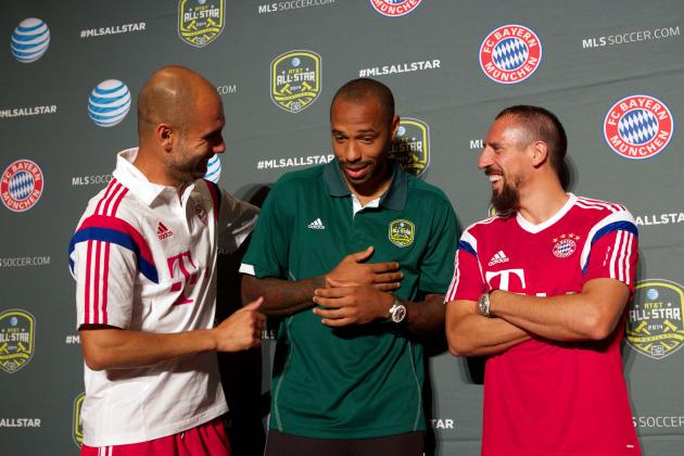 MLS All-Stars vs. Bayern Munich: Schedule and All-Star Game Predictions