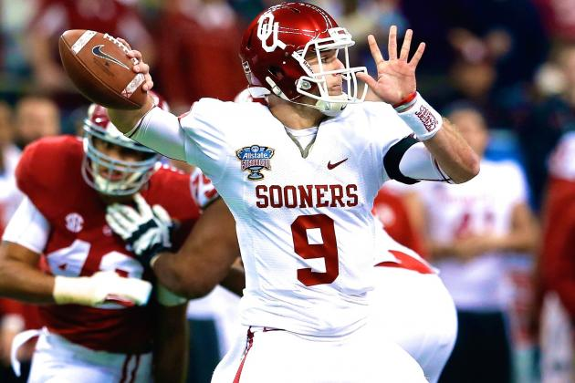 Which Red River Showdown QB Is Under the Most Pressure This Fall?