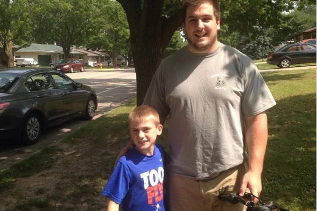 Packers Rookie and His 'Bike Kid' Form a Special Friendship at Training Camp