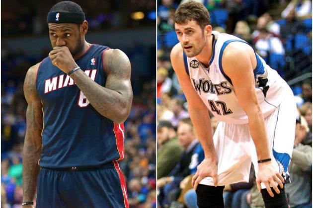 Does LeBron James Need Kevin Love to Compete for 2015 Title?