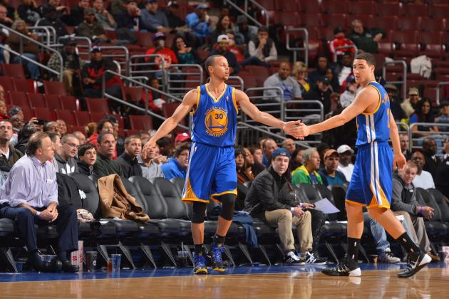 Keeping Klay Thompson Is About Preserving Crazy Mismatches with Steph Curry