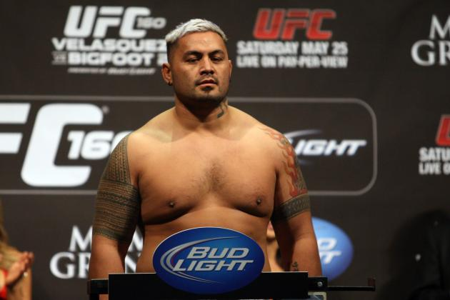 Mark Hunt Released by the UFC? Dana White Says 'Hell No!'