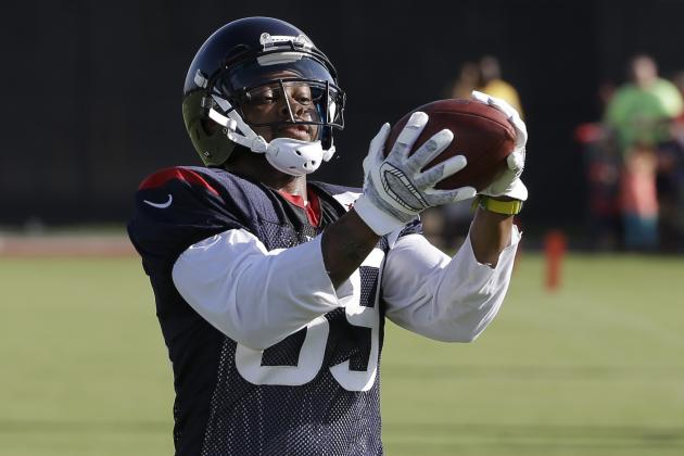Receiver Thomas Tries to Resurrect Career with Texans