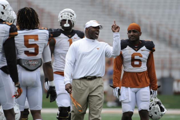 Texas Players Stand by Strong Discipline