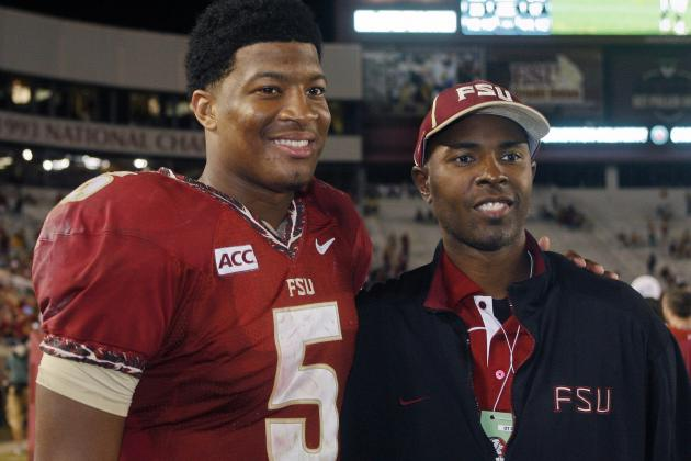 Jameis Winston Gets Guidance from Charlie Ward, Iowa's Stud Tackle, More
