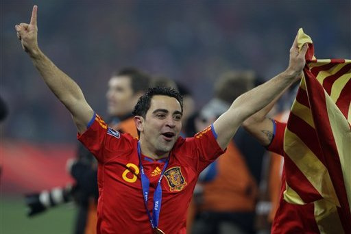 Xavi Was Key to Spain's Run of Dominance