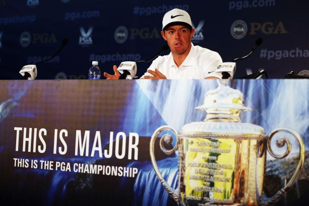Rory McIlroy Wins 2014 PGA Championship by One Stroke over Phil Mickelson