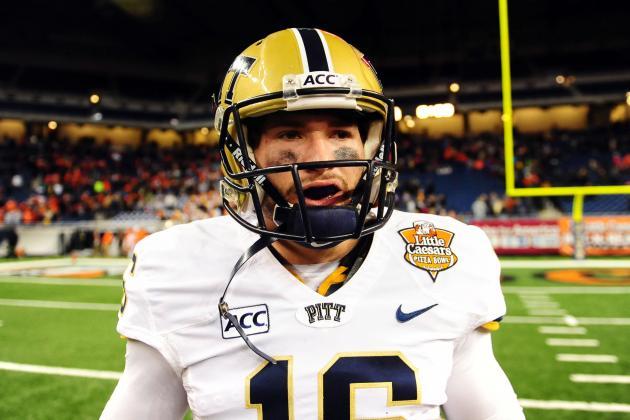Voytik Preparing to Accept Challenges of Being Pitt's Starting QB
