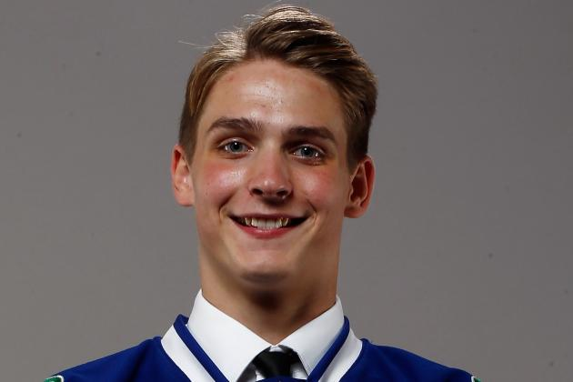 Canucks Prospect Virtanen Ahead of Schedule with Shoulder Rehab