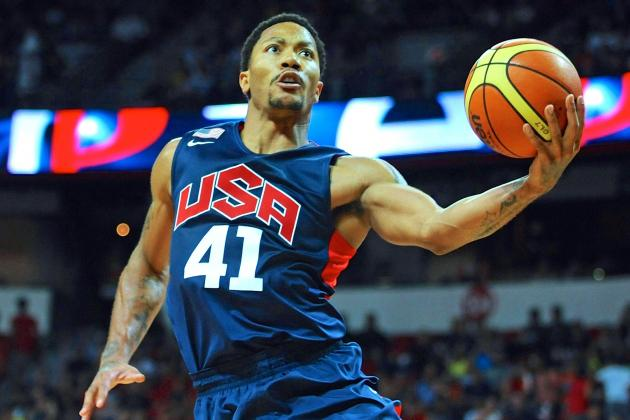Coach K Again Says Derrick Rose Is Back to Being Elite