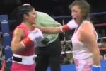 Female Boxer Drops Hands, Gets DESTROYED
