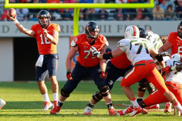 Virginia Football Enters 2014 Season Rebuilding on Offensive Line