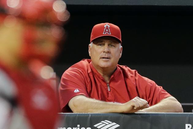 Angels Manager Mike Scioscia Reaches 1,300 Career Wins