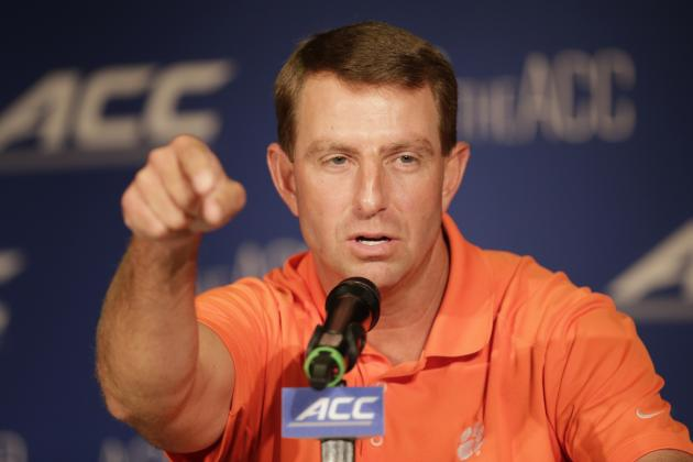 How Clemson's Dabo Swinney Can Quiet South Carolina's Steve Spurrier