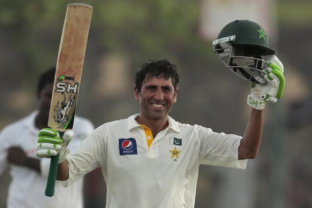 Cricket Statistics: Does Pakistan's Younis Khan Sit Among Test Cricket's Greats?