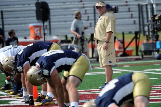 Notre Dame Football Looking to Rediscover Its Mojo