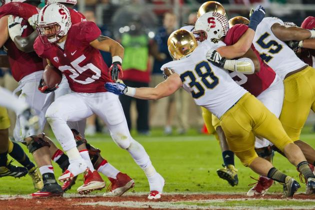 Notre Dame LB Joe Schmidt Grasping Starting Role