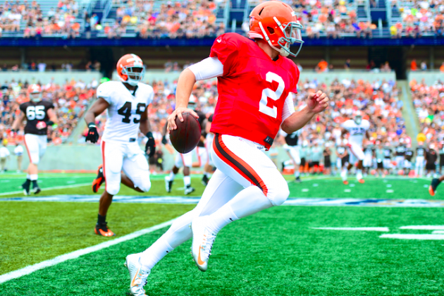 Cleveland Is Ready for the Manziel Era, but His Browns Teammates Aren't so Sure