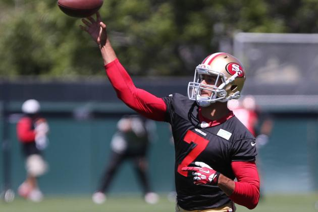 Colin Kaepernick Talks Roster Competition and Tension in Camp