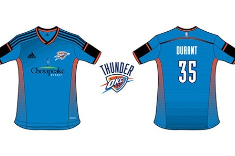 Designer Uses NBA Teams and Sponsors to Create Soccer Kits