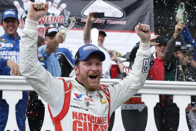 EXCLUSIVE: Dale Earnhardt Jr. Talks '14 Title Hopes on NASCAR Race Hub