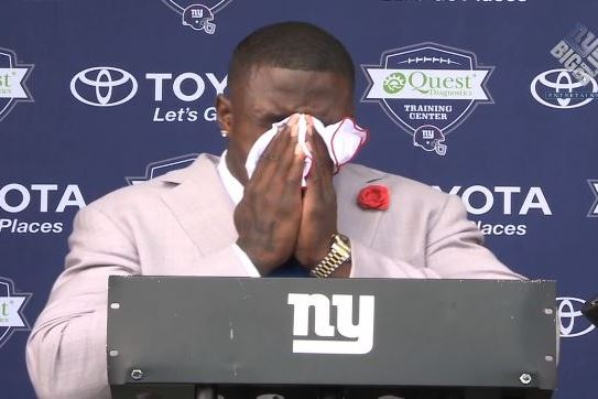 David Wilson Gives Very Emotional Farewell Speech as He Steps Away from the NFL