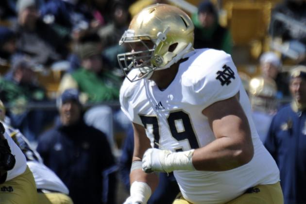 Better Offensive Line Depth Puts Notre Dame in Good Shape