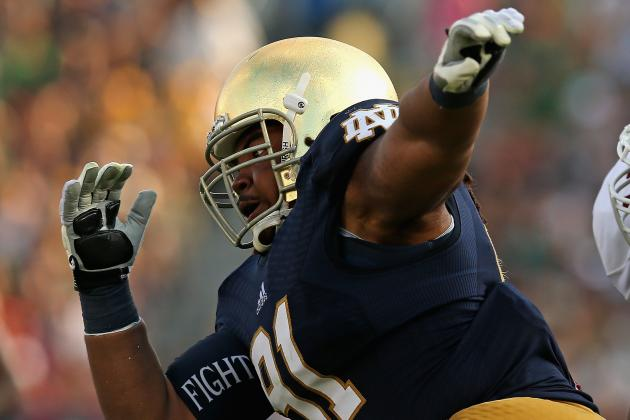 Notre Dame: Sheldon Day on a Mission to Prove Doubters Wrong