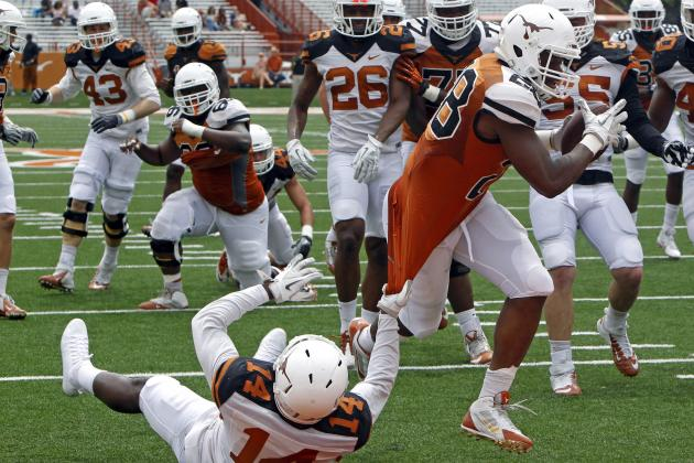 Texas Football: Will Thin RB Depth Doom the Longhorns in 2014?