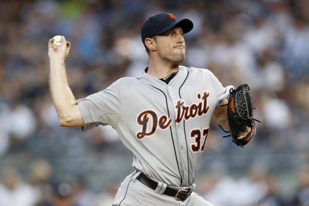 Tigers' Max Scherzer Becomes 16th in Franchise History with 1,000 Strikeouts