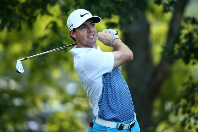 PGA Championship 2014 Leaderboard: Updating Results and Standings for Day 1