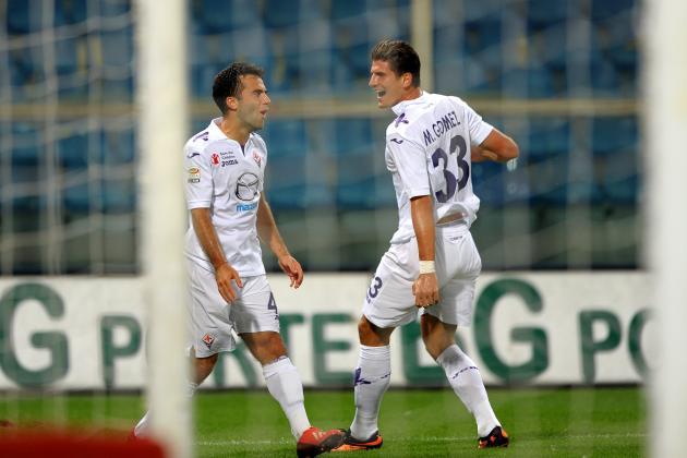 Mario Gomez and Giuseppi Rossi Crucial to Fiorentina's Season
