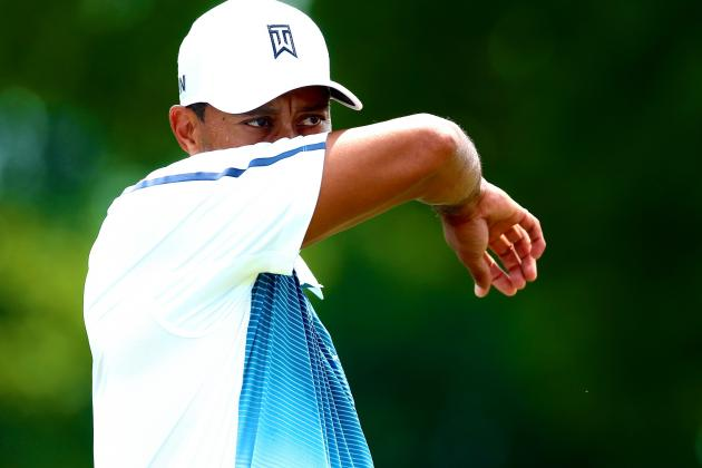 Tiger Woods the Mystery Man Entering 2014 PGA Championship