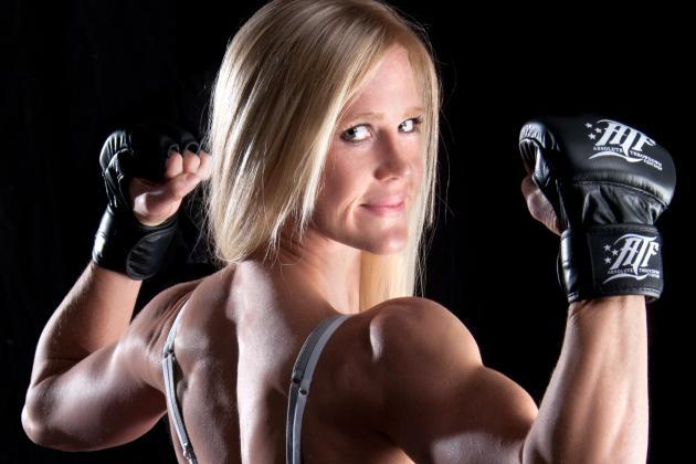 Holly Holm Knows She Came to the UFC with a Target on Her Back